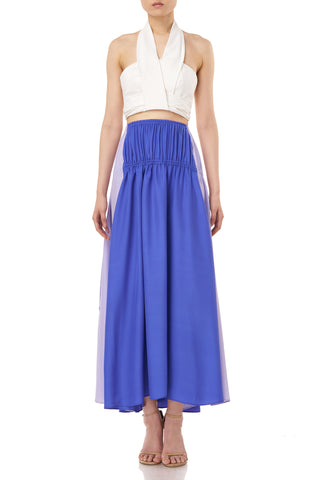 Tova Skirt in Blue Purple & Lilac