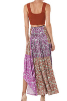 Scout Skirt in Multi Purple Print thumbnail