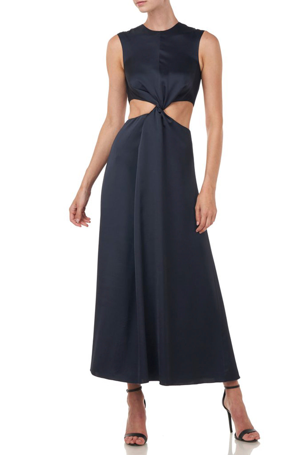 Inara Dress in Navy
