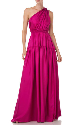 Nari Dress in Magenta