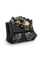 JABBERWOCKY Clutch in Denim thumbnail