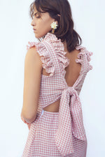 Pink Checkered Dress thumbnail