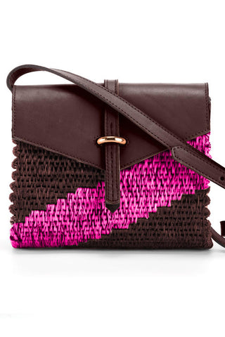 The Mini Ziggy Bag in Hot Pink