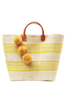 Caracas Basket Tote in Sunflower thumbnail