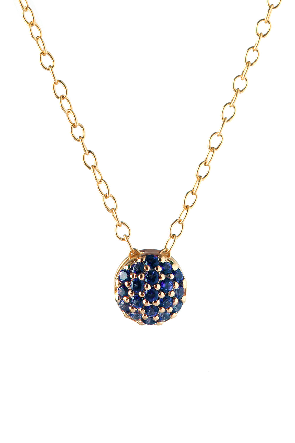 September Birthstone Dot Pendant