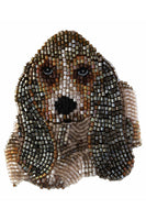 Dog Brooch in Basset Hound thumbnail