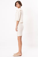 Ann Jacket in Ivory thumbnail
