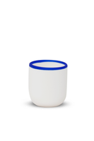 Short Cup with Blue Rim thumbnail