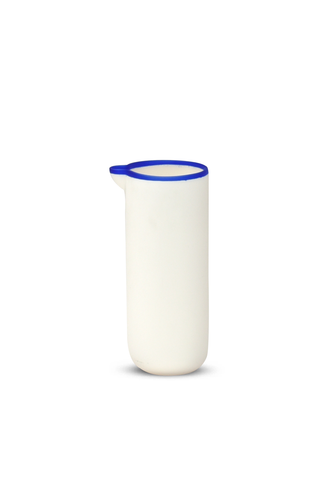 Carafe with Blue Rim