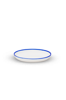 Salad Plate with Blue Rim thumbnail