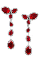 Penelope Cruz Lola Long Drop Earrings thumbnail