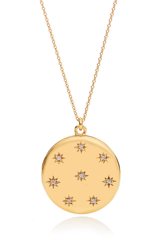 Adriane Gold 8 Star Locket