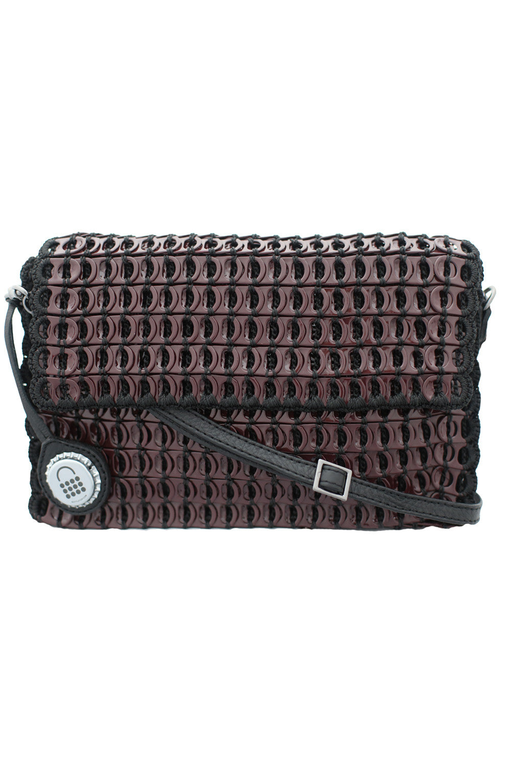 Amazona Mini Shoulder Bag in Bordeaux