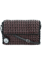 Amazona Mini Shoulder Bag in Bordeaux thumbnail