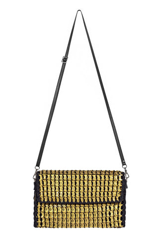 Amazona Mini Shoulder Bag in Gold