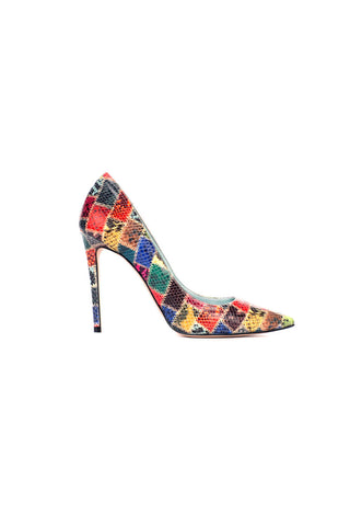 Amelia in Patchwork Python Effect