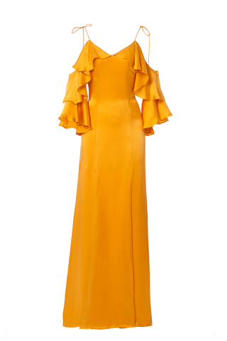 The Fiona Gown in Marigold