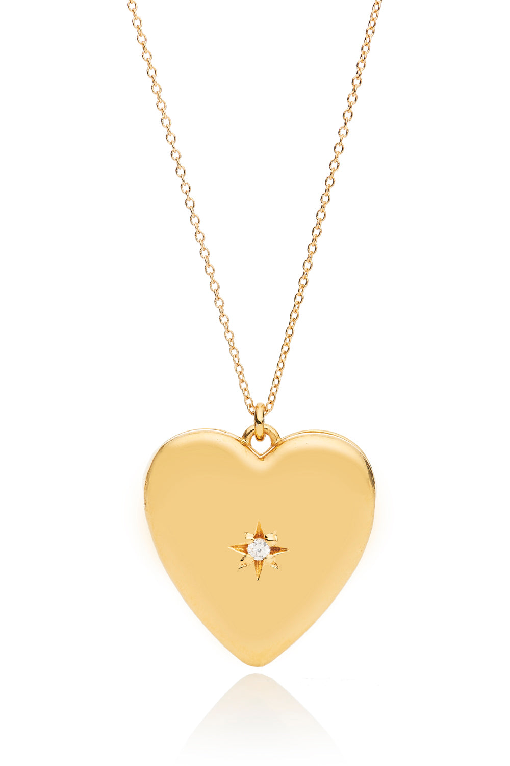 Anouk Gold Heart Locket