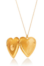Anouk Gold Heart Locket thumbnail