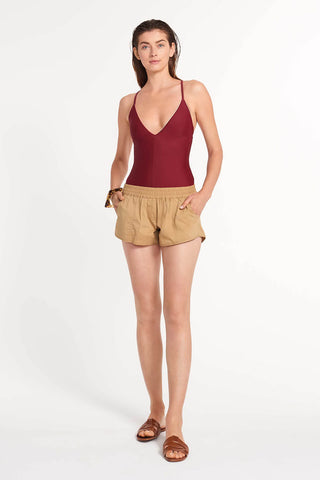 The Short Board Short Khaki