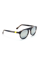 Atlas 1 Frame with Super Silver Lenses & Neon Lemon Howlite Inlay thumbnail
