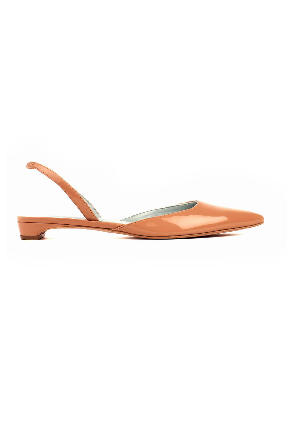 Audrey in Nude Patent Effect