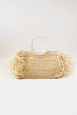 Indego Africa. Natalia Bag in Natural c9ca304331b8