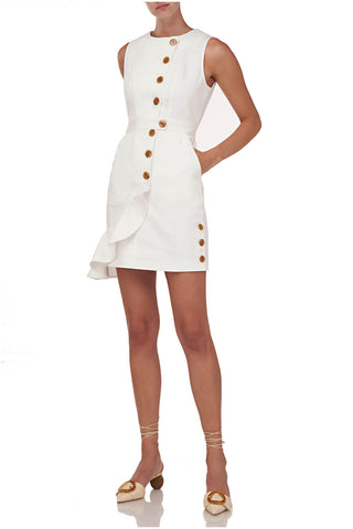 Beba Dress in White