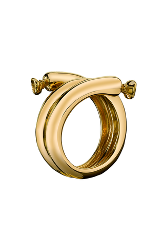 Balloon Ring in 18K Yellow Gold