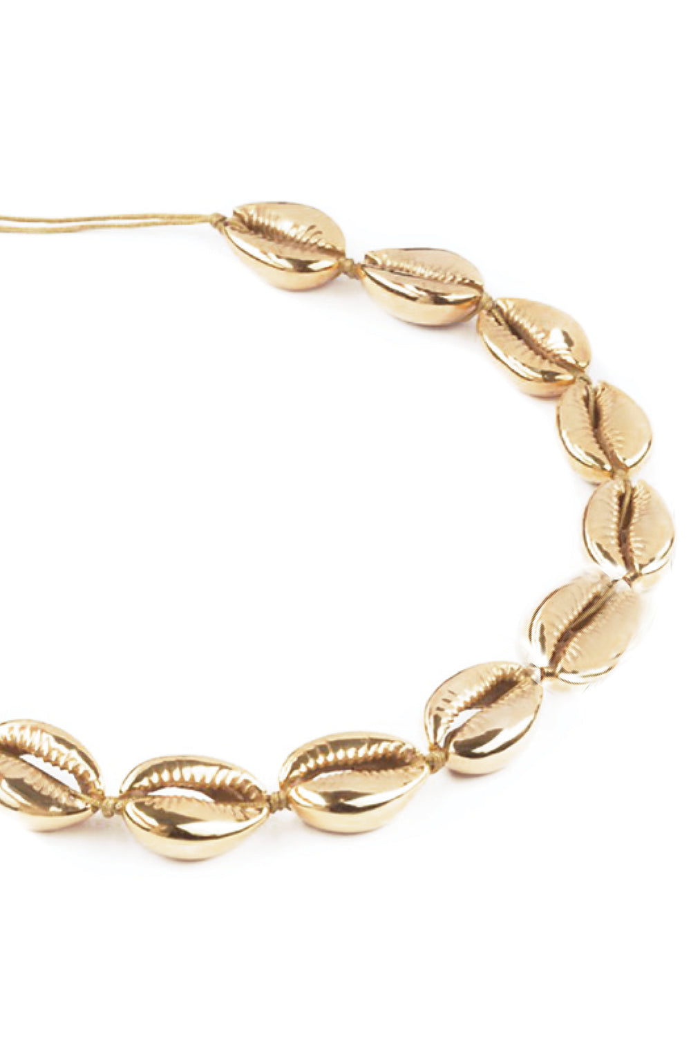 Baltic Choker Necklace in Gold