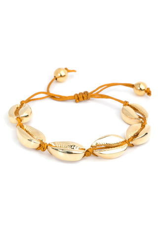 Baltic Slide Bracelet in Gold
