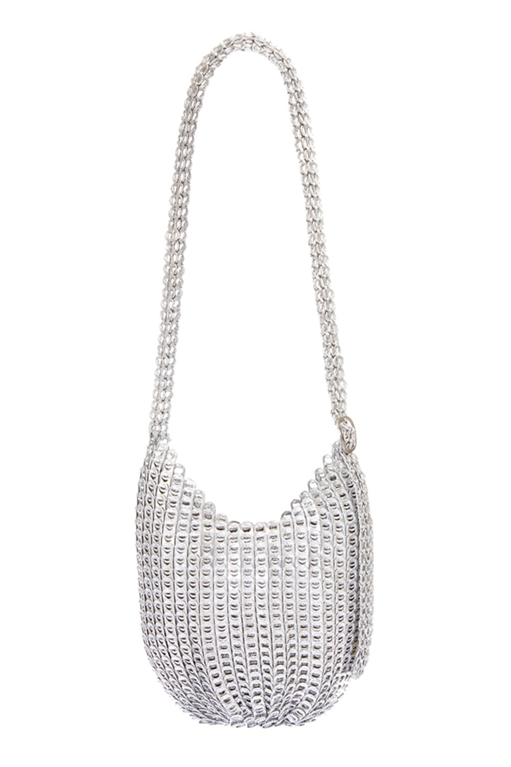 Bellani Cross Body Bag in Silver