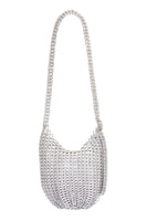 Bellani Cross Body Bag in Silver thumbnail