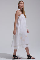Bibi Dress in White thumbnail