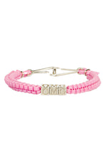 'OMG' CAMP Biggie Bracelet in Baby Pink thumbnail