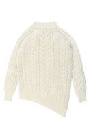Bolinas Cable Knit Pullover in Natural thumbnail
