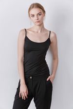 Camille Softest Camisole in Black thumbnail