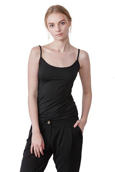 Camille Softest Camisole in Black