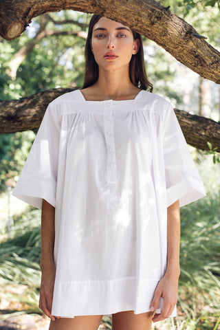 Vitoria Nightgown in Milk