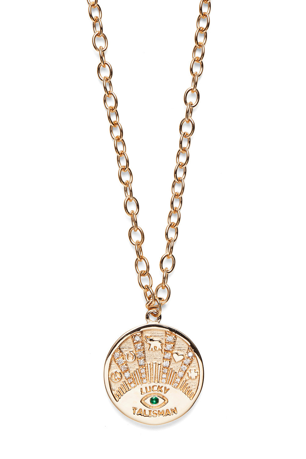 Lucky Talisman Coin Necklace