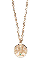 Lucky Talisman Coin Necklace thumbnail