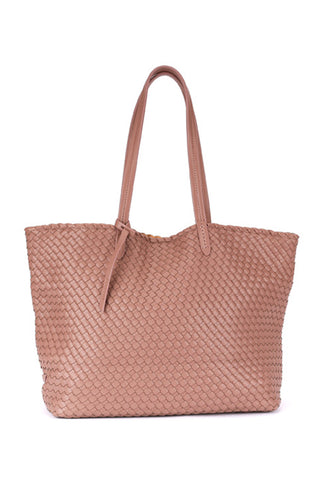 Cannes Small Tote Bag in Mocha