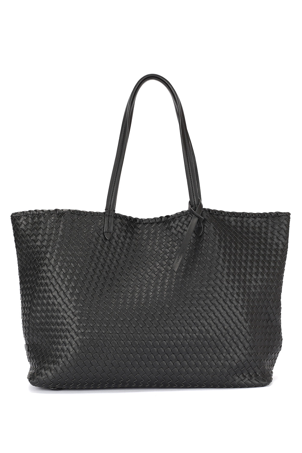 Cannes Small Tote Bag in Onyx