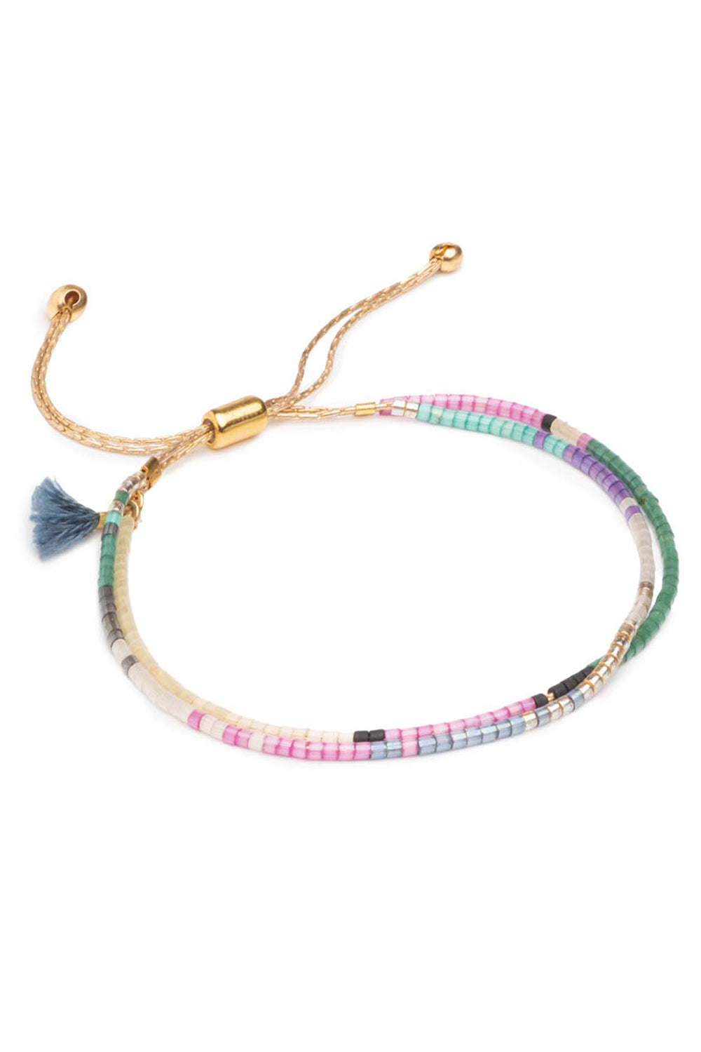 Carlita Slide Bracelet in Multi
