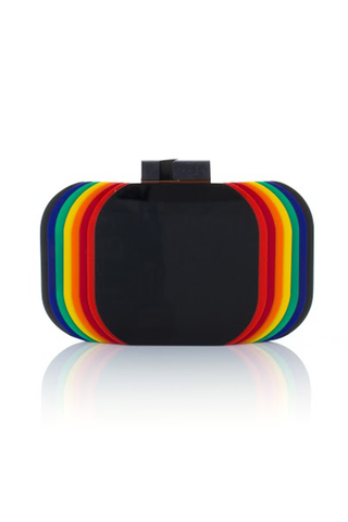 The Aura Rainbow Clutch