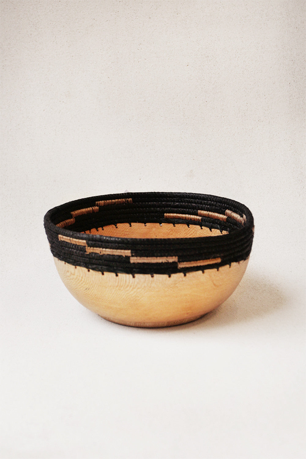 Small Copabu Wooden Bowl in Black