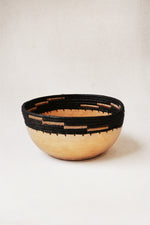 Small Copabu Wooden Bowl in Black thumbnail