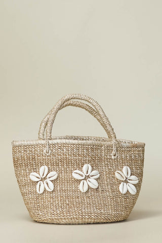 Cowrie Flower Banana Bag