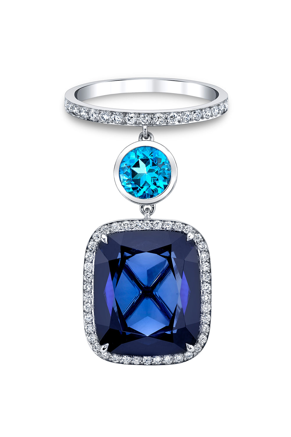 Azure Blue Ring
