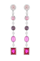 Flowering Fuchsia Earrings thumbnail